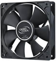 Deepcool Dc Fan Xfan120 deepcool xfan120 black dc fan asianic distributors