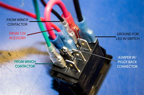 utv winch wiring diagram electrical schematic