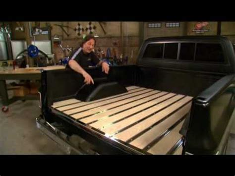 how to make a wood truck bed horkeys showdeck installation www horkeyswoodandparts com