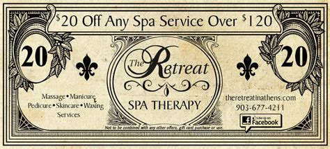 Gift Card Specials 2015 - 2015 christmas gift card special the retreat massage and day spa