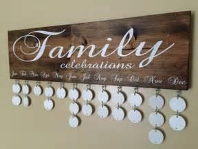 Handmade Wall Hanging For Birthday - handmade family birthday board family celebrations board