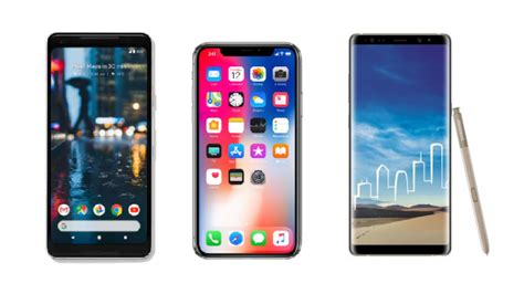 iphone v pixel 2 pixel 2 xl vs iphone x vs samsung galaxy note 8 price in india specifications features
