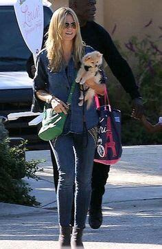 Heidi Klum Carries Givenchys Nightingale Handbag Johan by Heidi On Heidi Klum Laurent And