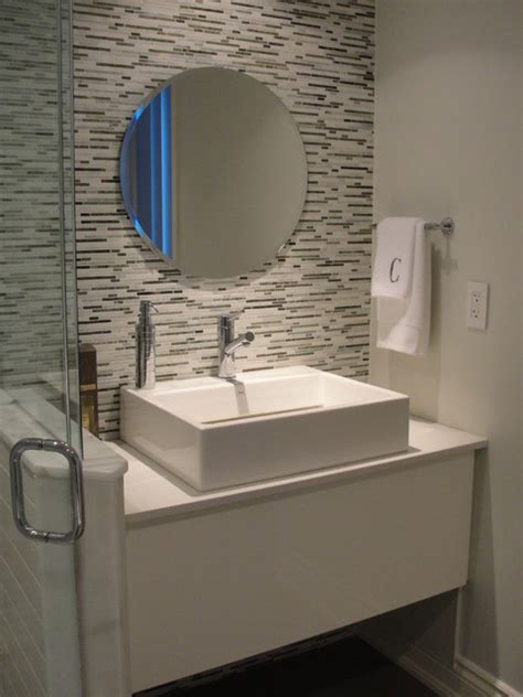 modern guest bathroom ideas guest bathroom contemporary bathroom toronto by ideas inc