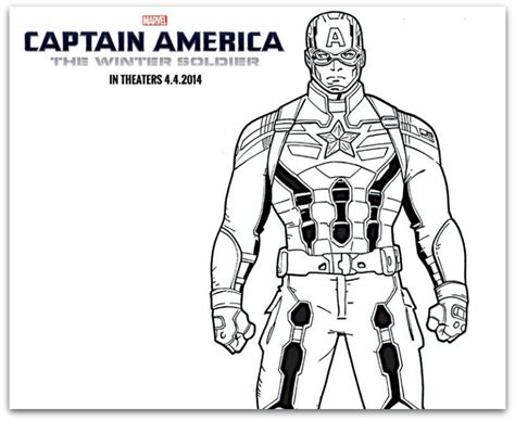 Free Captain America The Winter Soldier Coloring Sheets Captain America Civil War Coloring Pages