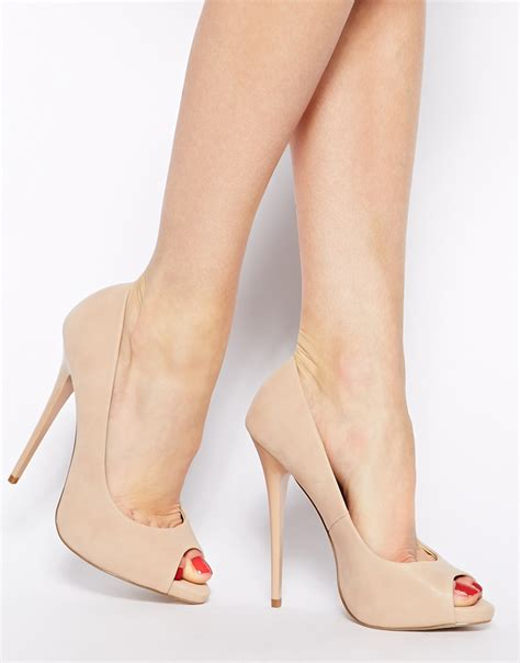 Color Panel High Heel Pumps beige high heels heels zone
