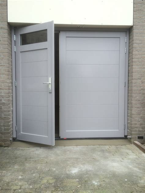 Houten Openslaande Garagedeuren by Houten Openslaande Garagedeuren Den Bosch Different