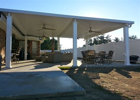 patio cover installation aluminum patio cover contractors in new orleans louisiana