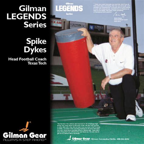 spike dykes spike dykes head football coach texas tech gilman