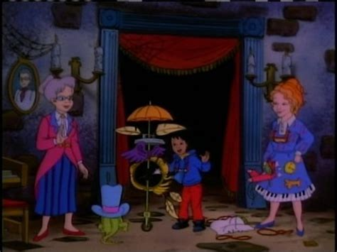 The Magic School Bus In The Haunted House Youtube