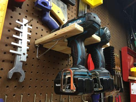 pegboard drill holder drill holder peg board drill