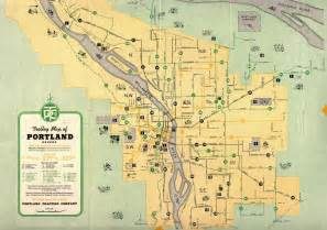 portland oregon streetcar map thinkoutloud vanport oregon 1920 s