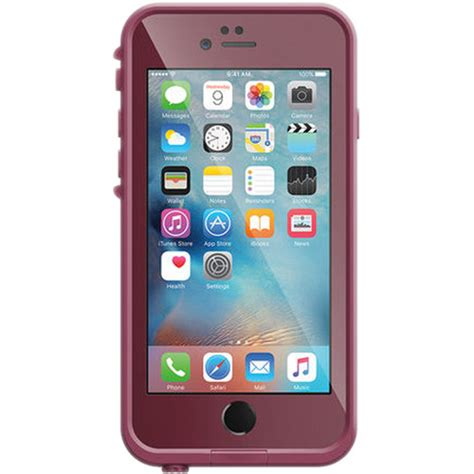 lifeproof fr for iphone 6s crushed purple 77 52568 b h