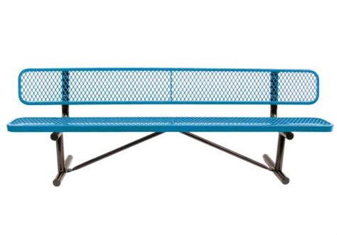 tennis benches for courts 8 foot jordan park bench commercial site furnishings