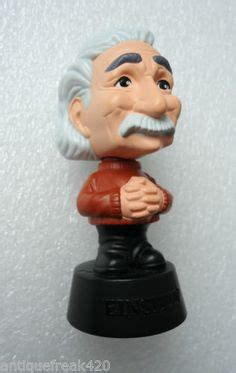 bobblehead einstein at the museum mcdonalds happy meal on mcdonald s toys and