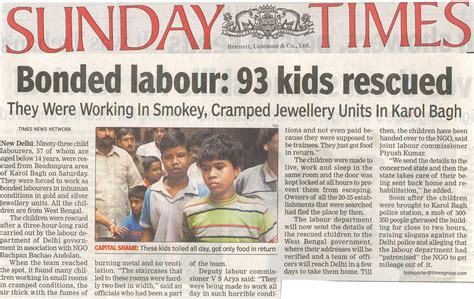 sunday times education section image gallery newspaper articles for children