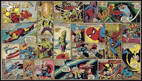classic marvel wallpaper marvel comic wallpapers wallpaper cave
