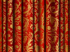 Red And Black Valance Pattern Curtain 5 Free Vector Graphic Download