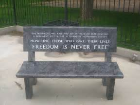 File Bench File Freedom Is Never Free Img 0628 Jpg Wikimedia Commons