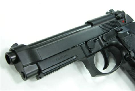 Airsoft Gun Beretta M9a1 beretta m9a1 metal gas blowback co2 version airsoft pistol kj works