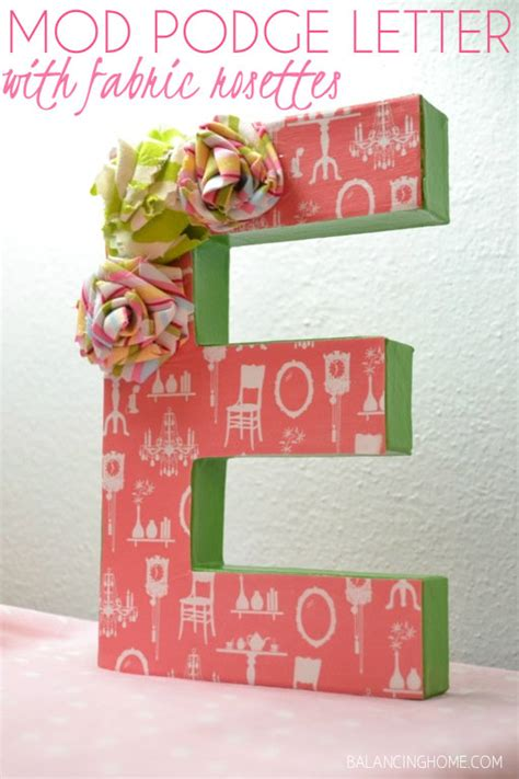 Gift Letter Source Of Gift 21 Diy Letter Crafts To Give As Gifts Modern