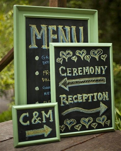 diy chalkboard from picture frame diy wedding chalkboard wedding ideas and photography