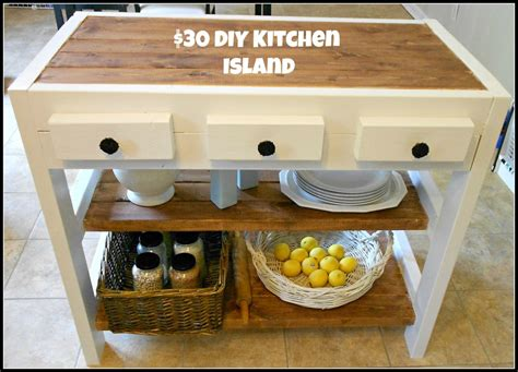 30 kitchen island 30 diy kitchen island project our home sweet home