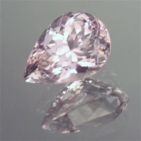 Pink Topaz Memo Id Lab Gri monoclinic kunzite gem resource international