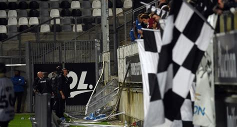 Barier The Football House by Updated 29 Football Fans Injured As Stadium Barrier Collapse