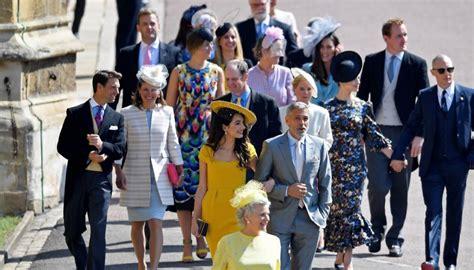 celebrity pics at royal wedding royal wedding the dresses the hats the celebs newshub