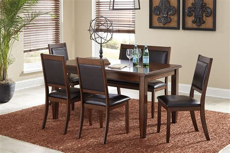 ashley furniture dining bench ashley furniture meredy brown 6 pc dining table uph side