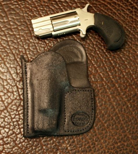 pug 22 magnum pocket guard holster for naa pug 22 mag rh d m bullard leather mfg