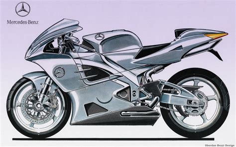 mercedes motorcycle motosketches auto inspired two wheeled designs autoblog