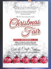 christmas balls flyer christmas fair flyer christmas fayre