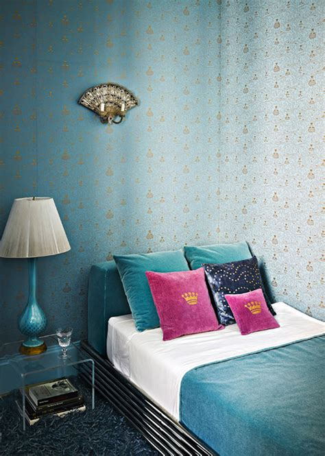 Pink And Turquoise Bedroom by Turquoise On The East Side Interiors By Color