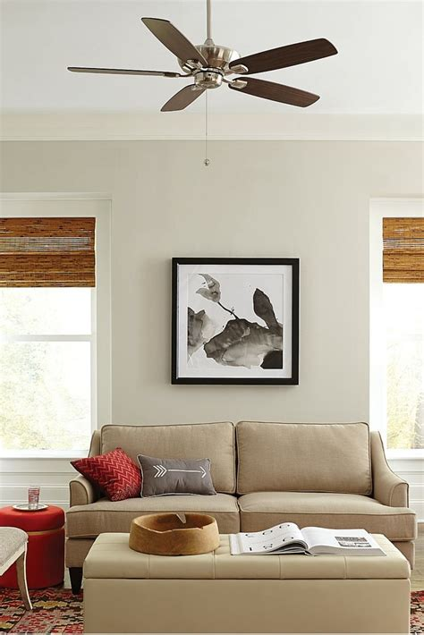 ceiling fan size for room best size ceiling fan for living room net with what