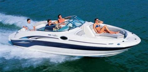 deck boat on lake michigan 2003 sea ray 240 sundeck boats for sale