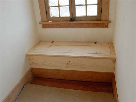 window seat hinges 1912 bungalow