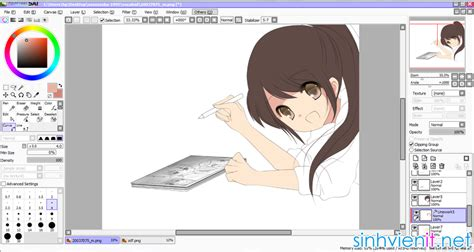 paint tool sai official website vẽ chibi paint tool sai vẽ chibi