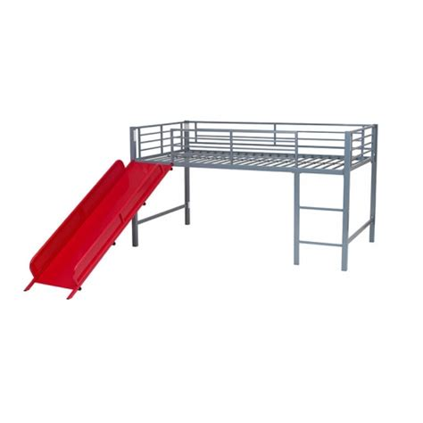 Metal Sleeper Bunk Bed by Metal Bunk Bed Mid Sleeper Cabin With Play Slide