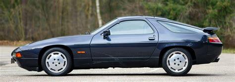 classic chrome porsche 928 s4 1987 e blue