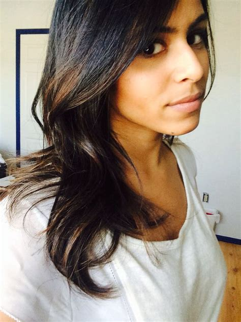 indian hairstyles highlights low light brown ombre on dark indian hair no regrets