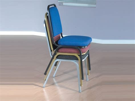 Padded Stackable Chairs by Trexus Banqueting Chair Upholstered Stackable