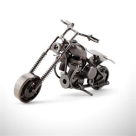 dekoratif metal motosiklet biblo hediyemencom