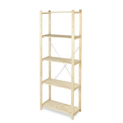 etagere 170 cm etag 232 re bois 5 tablettes l 70 x h 170 x p 30 cm castorama