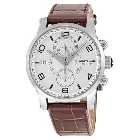Montblanc Automatic World Time Leather montblanc timewalker world time hemispheres automatic mens