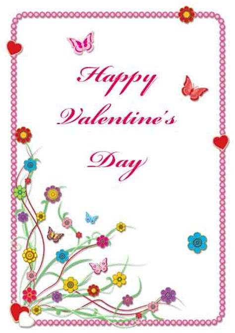 printable valentine cards free printable greeting cards printable flowers valentine cards