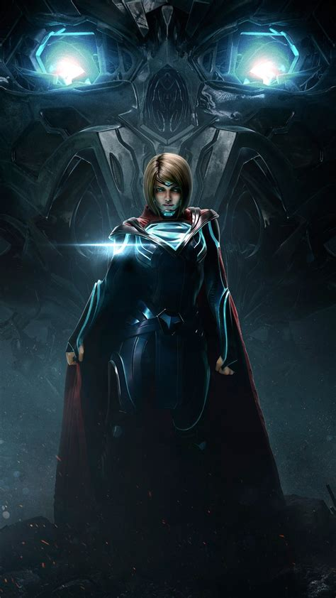 injustice  supergirl wallpapers hd wallpapers id
