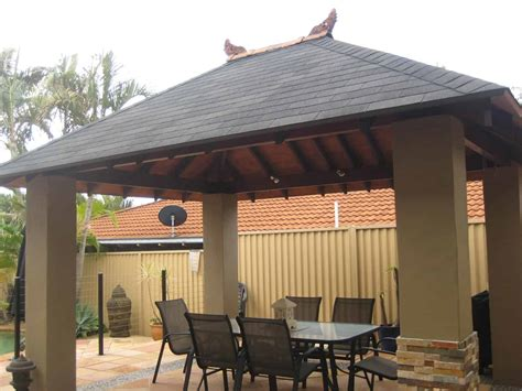 bali huts thatched roof replacement asphalt shingle