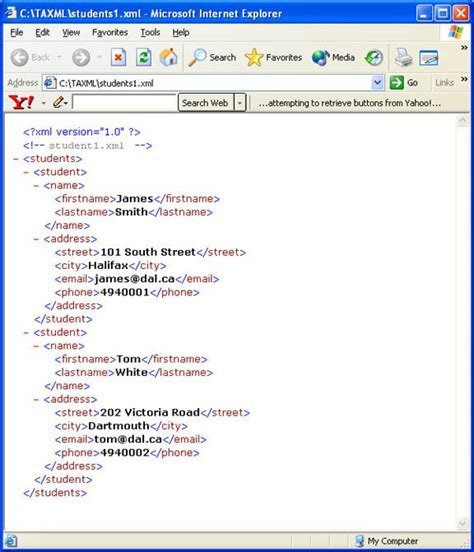 xml pattern for date untitled document web cs dal ca